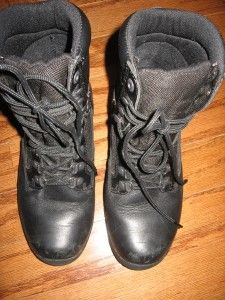 MENS HERMAN SURVIVORS COMMANDER BLK BOOTS SZ 8.5