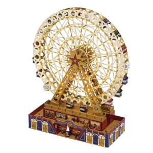 Worlds Fair GRAND Ferris Wheel NEW Over 15 Tall Plays 30 Songs