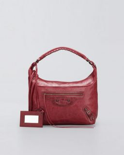 Balenciaga Classic Club Hobo Bag, Pourpre