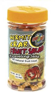 Zoo Med Hermit Crab Food Fruit Salad Treat .85oz