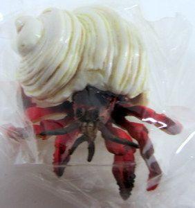 Hermit Crab PVC Replica Coenobita Figure   Epoch Japan Import RARE