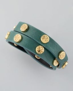 Studded Leather Bracelet    Studded Leather Bangle