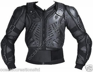ENDURO CE ARMOURED MX BODY ARMOUR BIONIC PROTECTION BLACK SUIT JACKET