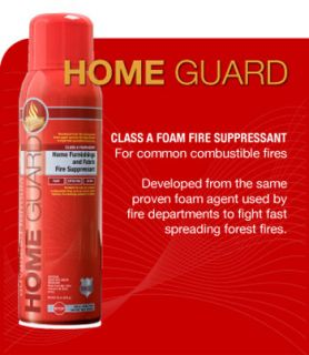 Shield Fire Protection Home Guard Class A Foam Fire Suppressant for