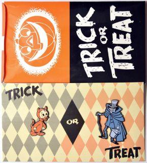 Disney Catalog 2 Pin Set 2003 Trick or Treat Halloween #3 Haunted