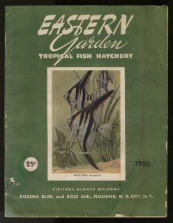1950 Eastern Garden Tropical Fish Hatchery Catalog