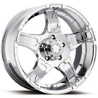 Ultra Drifter 20x9 Chrome Wheel / Rim 8x180 with a 18mm Offset and a