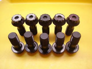NASCAR ARP 12 POINT FORD 9 REAR END RING GEAR BOLTS 7/16 FINE x 1