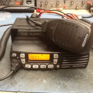 Kenwood TK 7160H K VHF 128CH High Power Mobile Radio