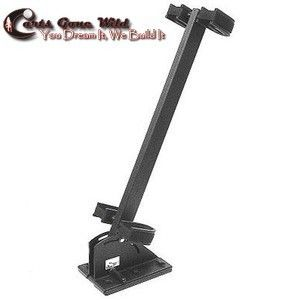Golf Cart Gun Rack Fit for EZGO Club Car Yamaha Chuckwagon Mule or UTV