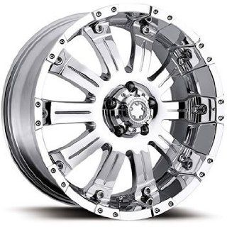 Ultra Mammouth 18x9 Chrome Wheel / Rim 5x150 with a 35mm Offset and a