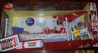 TV Movie Doll Toys Disney High School Musical Loungin