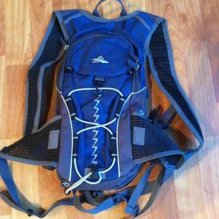 High Sierra Airflow Backpack Hydration Pack Blue