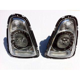 Mini Cooper LED Tail Light Clear/Chrome Lens 2007 2011 (Select Models