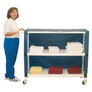 Jumbo Cart with Cover Number of Shelves 2, Color Forest