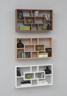 Novo Floor Standing Wood Display Shelf Cabinet / Shelving Unit