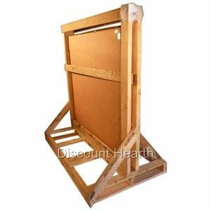 48 54 Wood Pellet Stove Board Hearth 2.4 R Value Stardust Floor Pad