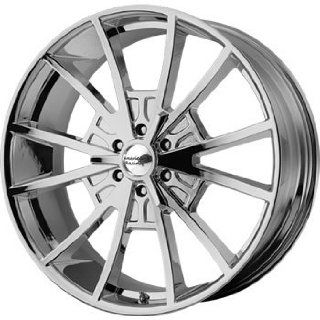 American Racing Vintage EL Rey 22x9 Chrome Wheel / Rim 6x135 with a