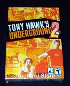 Tony Hawks Underground 2 Pro Skater PC Game New SEALED