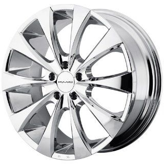 KMC KM679 20x9.5 Chrome Wheel / Rim 5x115 with a 15mm Offset and a 72