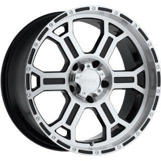 Tec Raptor 16 Machined Black Wheel / Rim 8x6.5 with a 18mm Offset