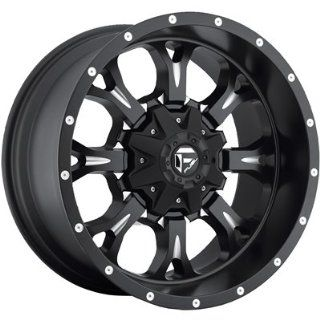 Fuel Krank 20x10 Black Wheel / Rim 8x6.5 with a  12mm