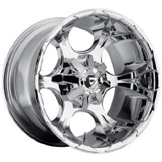 Fuel Dune 20x9 Chrome Wheel / Rim 8x6.5 with a 20mm Offset and a 125