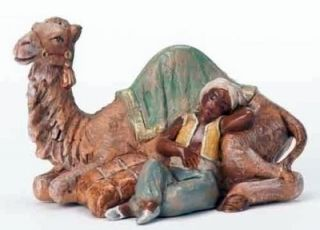 Fontanini Cyrus Boy with Camel 5 Scale 2012 Limited Edition 65272