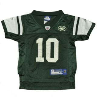 NFL Reebok Youth Child New York Jets Chad Pennington 10