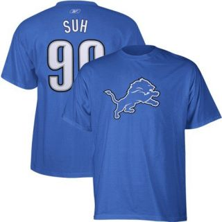 Suh Reebok Name And Number Detroit Lions T Shirt