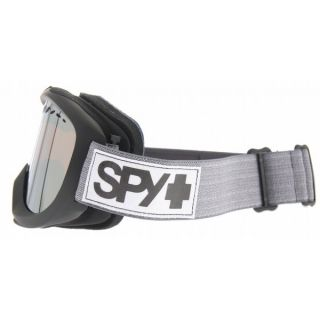 II Snowboard Goggles Black Hip Heather Bronze w Silver Mirror