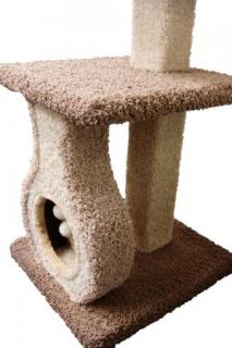 New 39 cat tree post furniture condo house, scratcher bed play toy