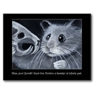 Hamlet Hamster Postcard