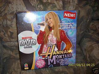 Disney Hannah Montana DVD Game Encore Edition NIB