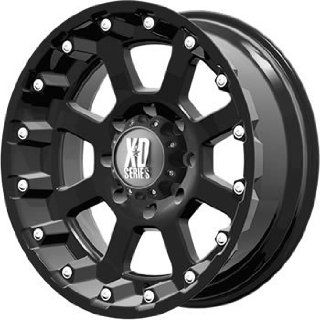 XD XD807 17x9 Black Wheel / Rim 6x5.5 with a  24mm Offset and a 106.25