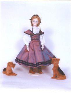 Louise Hedrick 12 French Fash Doll Costume Kit Swiss