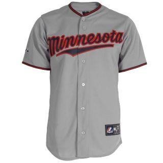 MLB Minnesota Twins Francisco Liriano Grey Short Sleeve 6