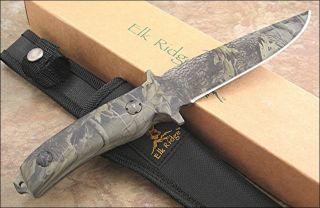 Elk Ridge High Definition Full Camo Fixed Blade Knife