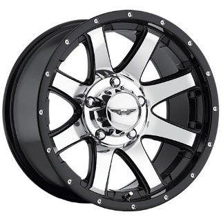 American Eagle 15 17 Super Finish Black Wheel / Rim 8x170 with a  5mm
