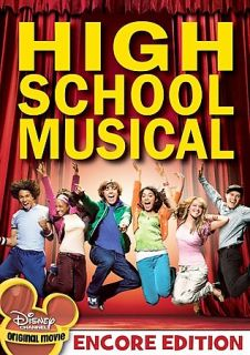 High School Musical DVD 2006 Encore Edition