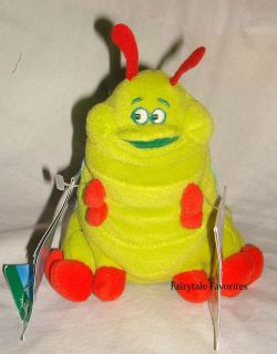 Disney Heimlich 9 A Bugs Life Bean Bag Plush Toy Green Caterpillar