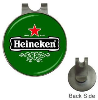 New Heineken Beer Logo Hat Cap Clip Golf Ball Marker