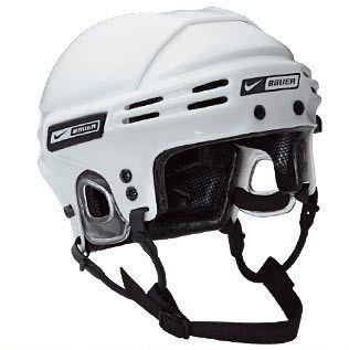 New Nike Bauer 5500 Ice Hockey Helmet Size Small White Senior Junior