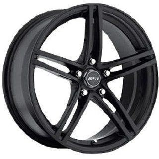 MSR 48 18 Black Wheel / Rim 5x4.5 with a 42mm Offset and a 82.80 Hub