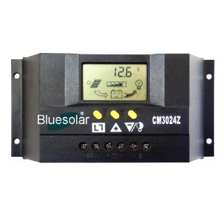 30A LCD 12V 24V Solar Controller Regulator Charge Battery