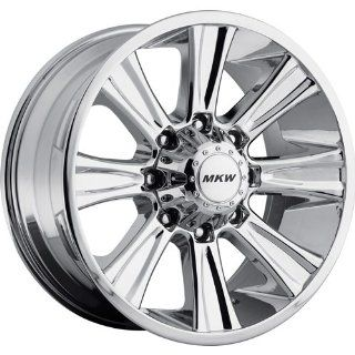 MKW Offroad M87 18 Chrome Wheel / Rim 8x6.5 with a 10mm Offset and a