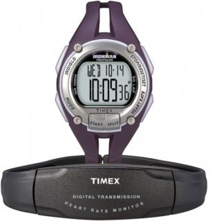Ironman Road Trainer Heart Rate Monitor Watch ,100 Meter WR, T5K213