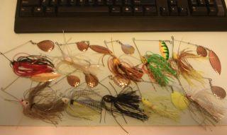 Spinner Baits Bush Hog Strike King Bass Fishing