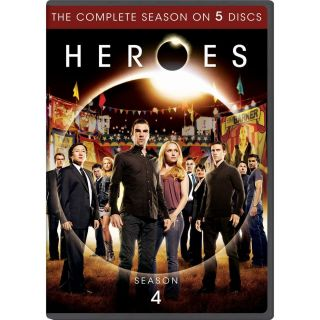 Heroes Complete 4th Fourth Season 4 Four Brand New 5 Disc DVD Set