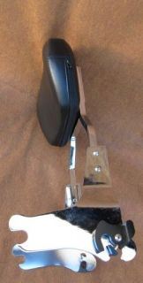 Detachable Harley Davidson Touring Sissy Bar Backrest with Luggage